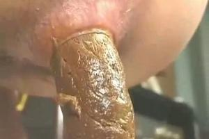 Huge poop from japanese girl